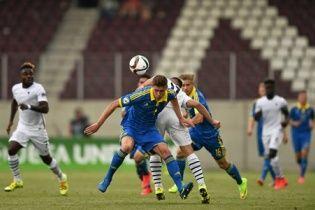 Сборная Украины потерпела второе кряду поражение на Евро-2015