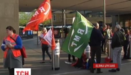 Лондон готовится ко второму дню транспортной лихорадки из-за забастовки работников метро