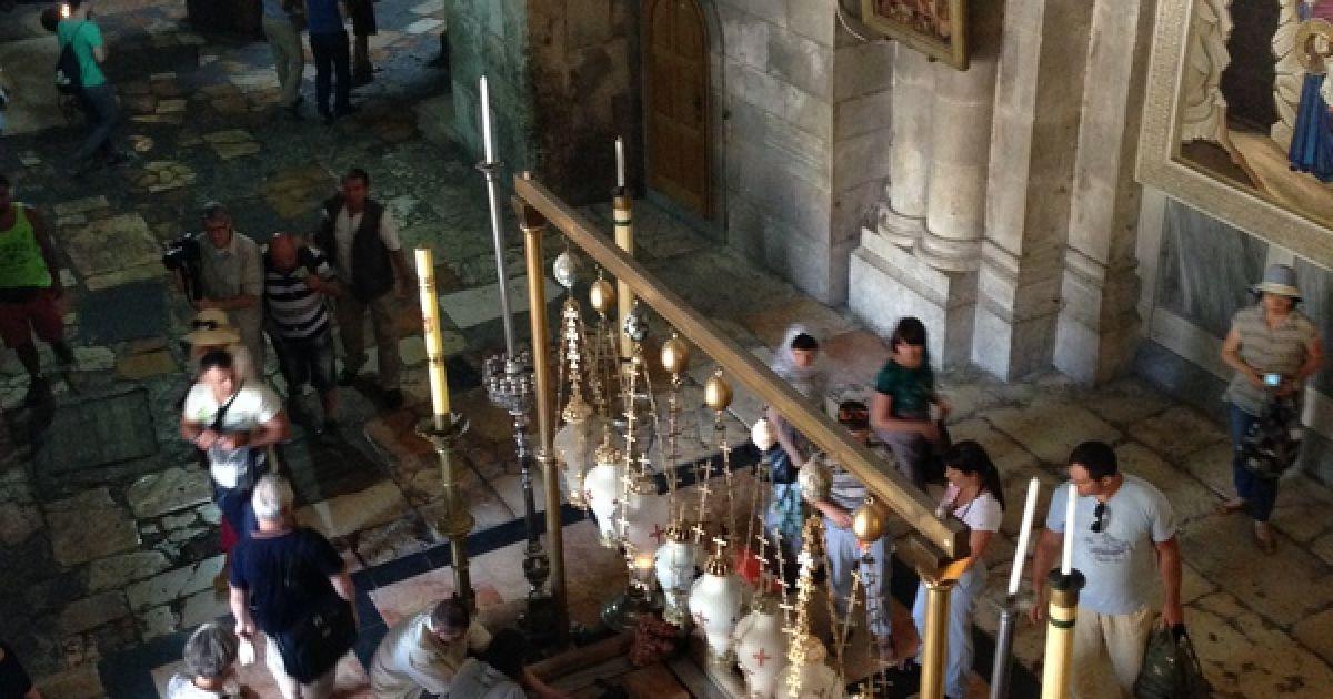 Храм Гроба Господнього @ Фото: Мирослава Ульяніна