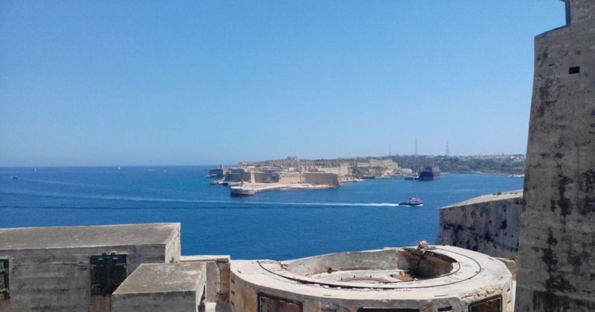 Вид на гавань з Валетти @ ТСН.ua