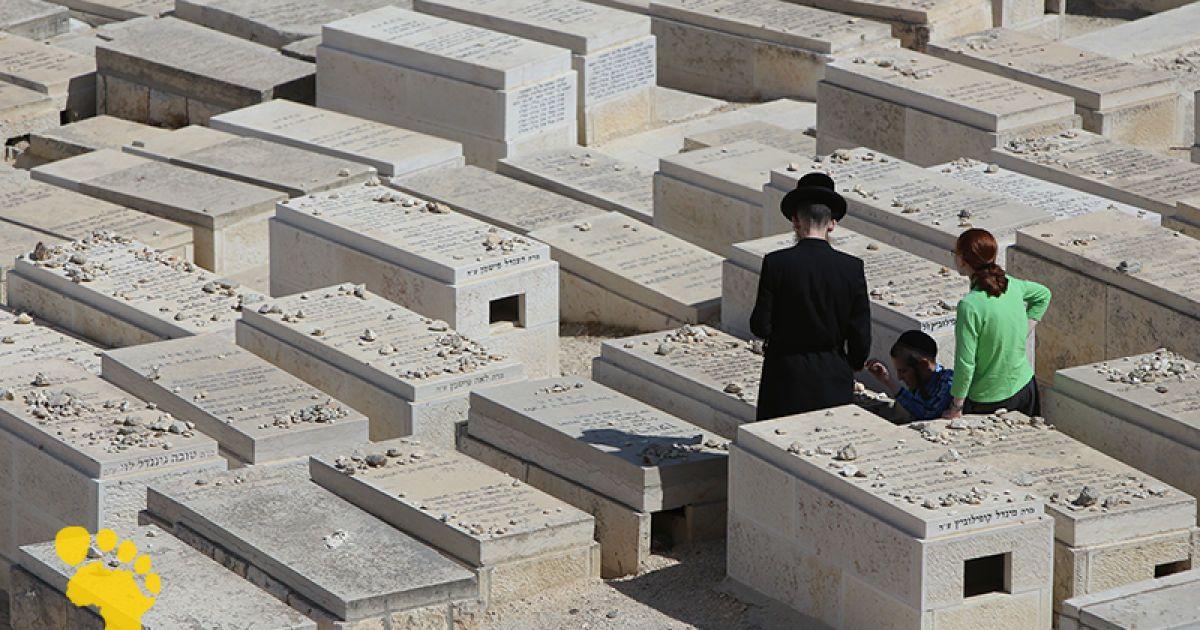 Цвинтар у Єрусалимі @ Фото: Євген Рафаловський