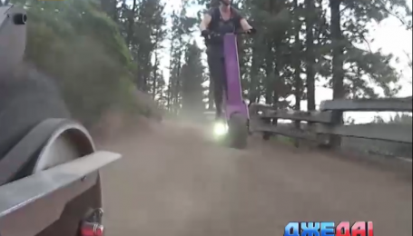 Умельцы из штата Орегон создали экологический самокат-вездеход