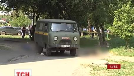 В Харькове расстреляли машину «Укрпочты», есть жертвы