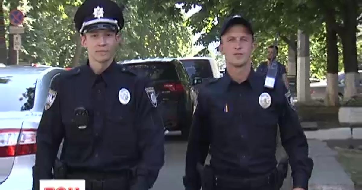 Киевские полицейские похвастались результатами работы за первый месяц. Инфографика