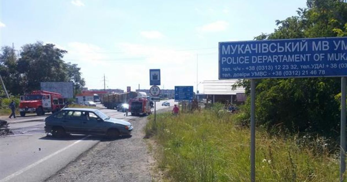 У Мукачево сталася перестрілка