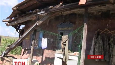 На Донеччині бойовики провели потужний обстріл житлових кварталів міста
