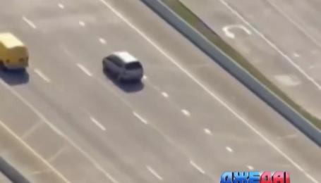 В Техасе полицейские решили проверить автомобиль, который двигался слишком медленно