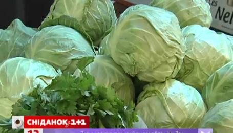 В Украине стремительно дешевеют овощи