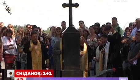 На месте гибели Кузьмы Скрябина открыли памятный знак