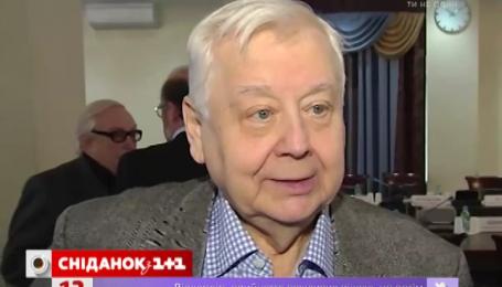 Олега Табакова Министерство культуры Украины внесло в «черный список»