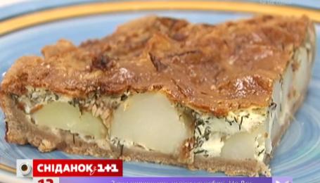 Картофельный тарт от Руслана Сеничкина