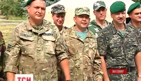 Пограничники вернулись на ротацию в родной Житомир