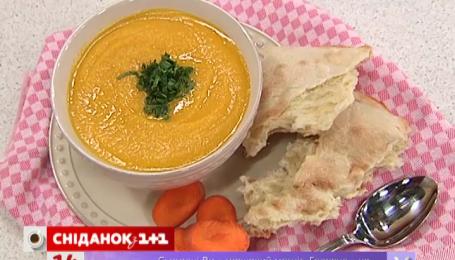 Имбирный суп-пюре с морковью и яблоками от Руслана Сеничкина