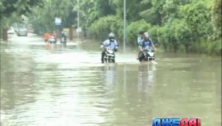 Столицу Индии затопило