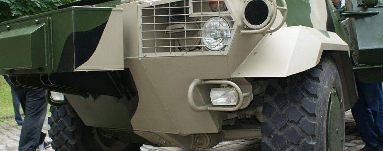 На Тернопольщине броневик Нацгвардии по дороге в АТО сбил юношу