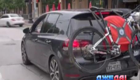 В США поступил в продажу первый в мире надувной багажник для транспортировки велосипедов
