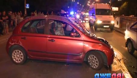Столичная автоледи отвлеклась на дороге и разбила машину вдребезги