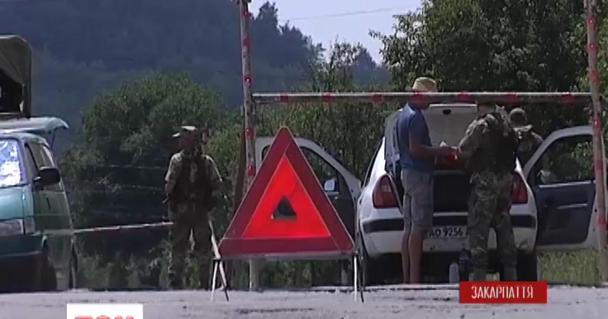 СБУ нашла оружие у бандитов, которых связывают с закарпатским депутатом Ланьо
