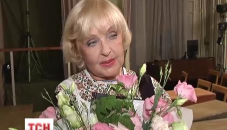 У свій 78 день народження Ада Роговцева дарувала радість глядачу