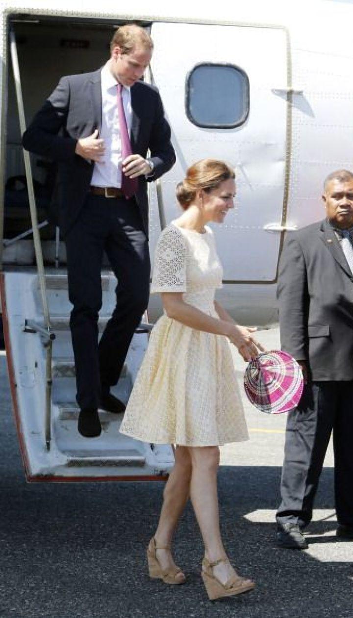 Герцогиня Кэтрин и принц Уильям в Сингапуре, сентябрь 2012