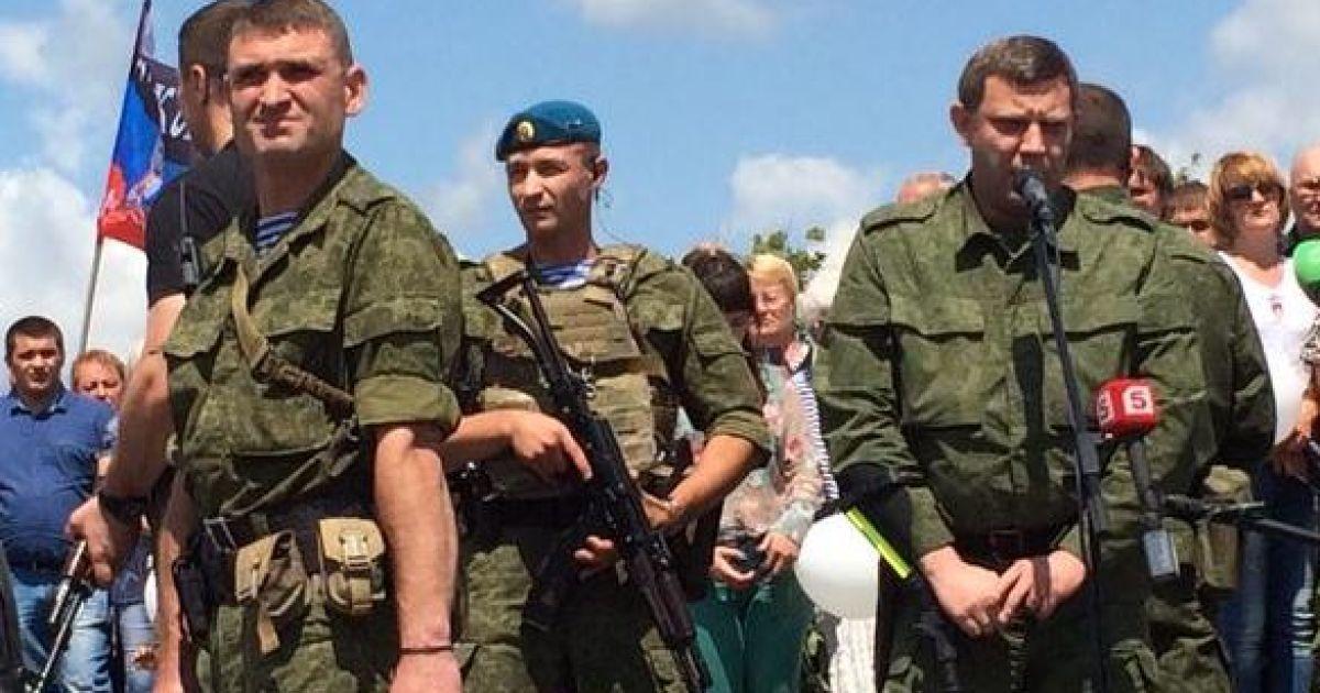 Захарченко ходит на костылях