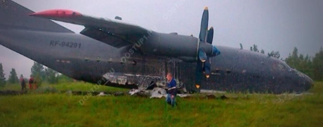 В России разбился седьмой за лето военный самолет