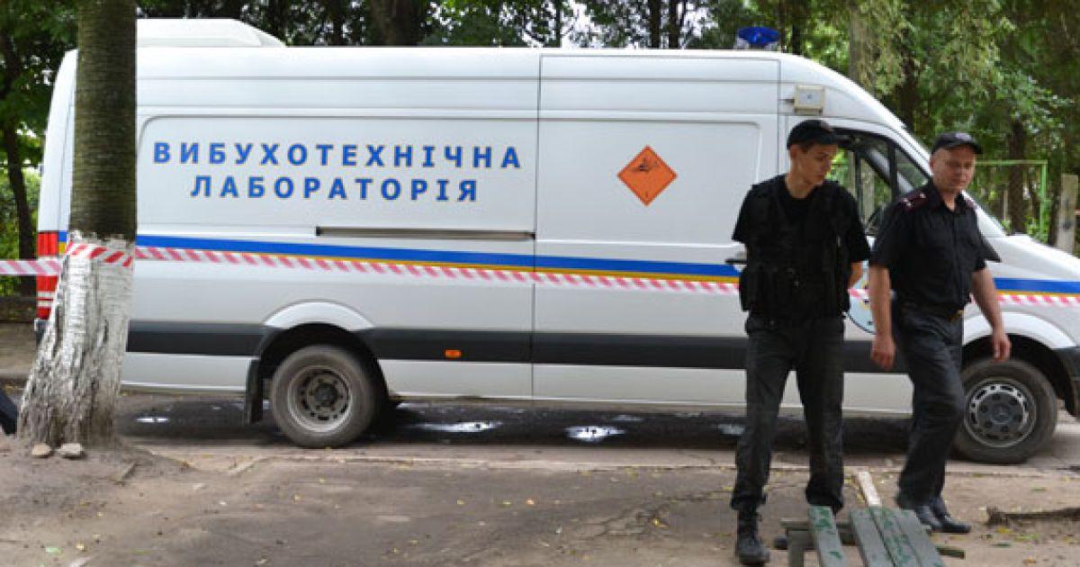 Правоохоронці евакуювали мешканців будинку @ ГУМВС України у Львівській області