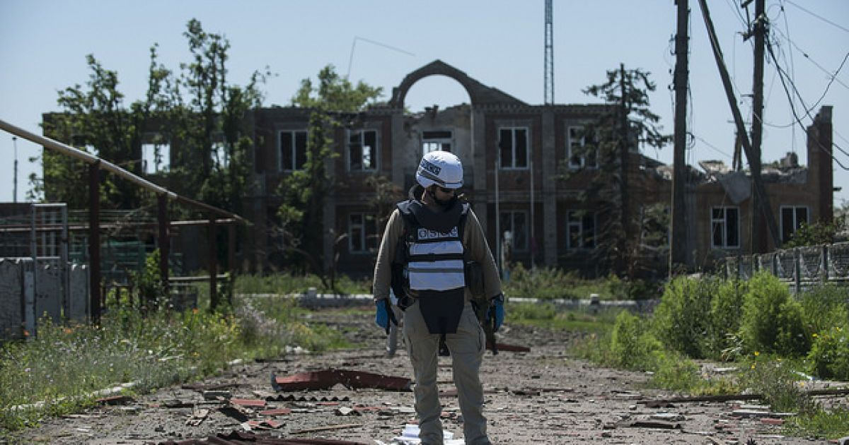 Боевики не захотели встречаться с руководством СММ ОБСЕ