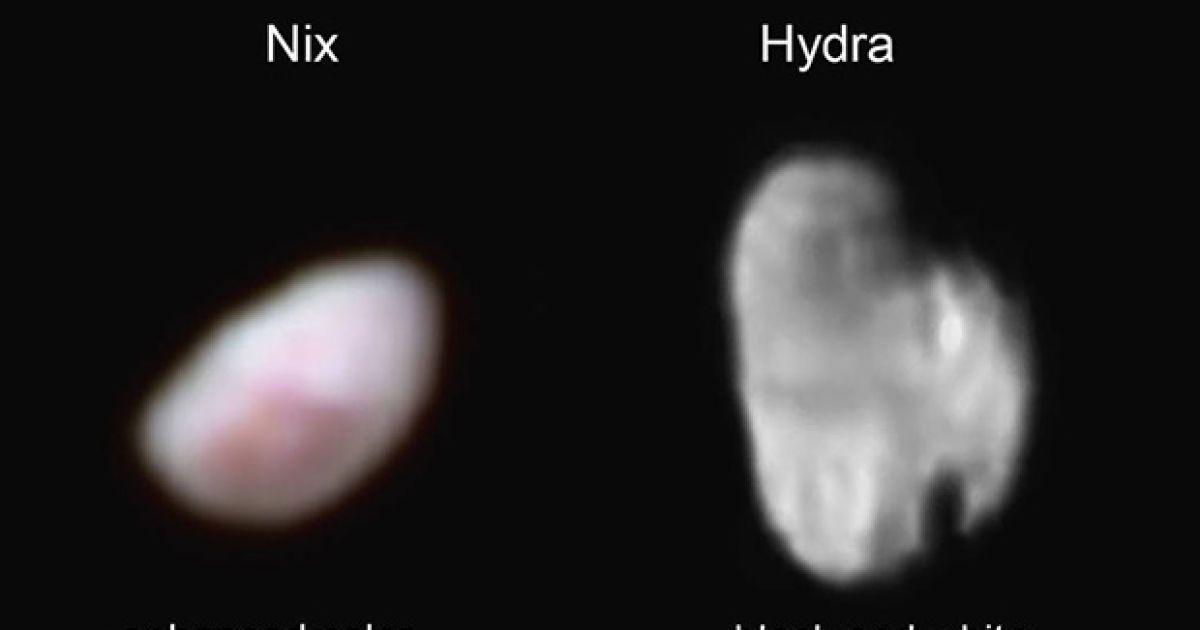 New Horizons помітила на малому супутнику Плутона таємничу червону пляму