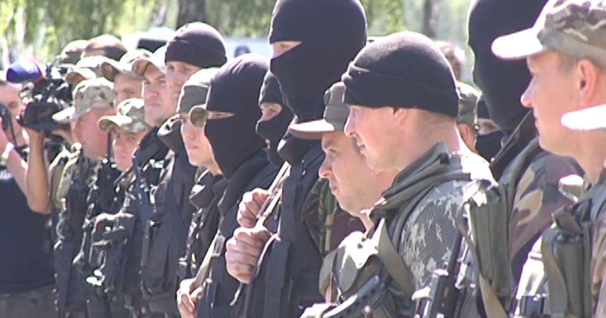 """Турчинов приоткрыл завесу над новым отрядом спецназначения """"КОРД"""""""