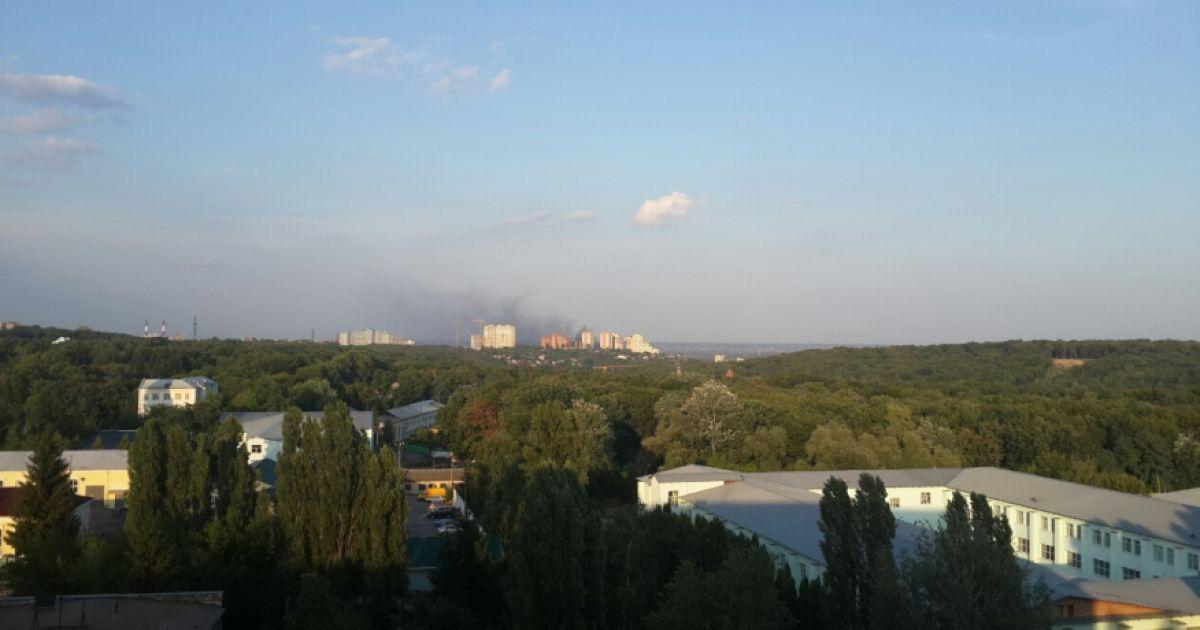 В Голосеевском районе произошел пожар @ ТСН.ua