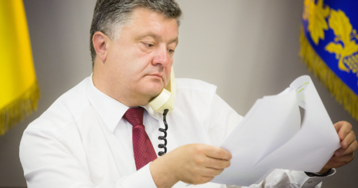 Президент Украины начал принимать электронные петиции