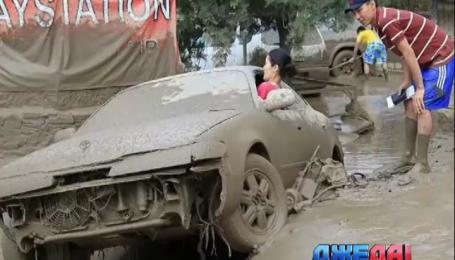 Алматы затопило