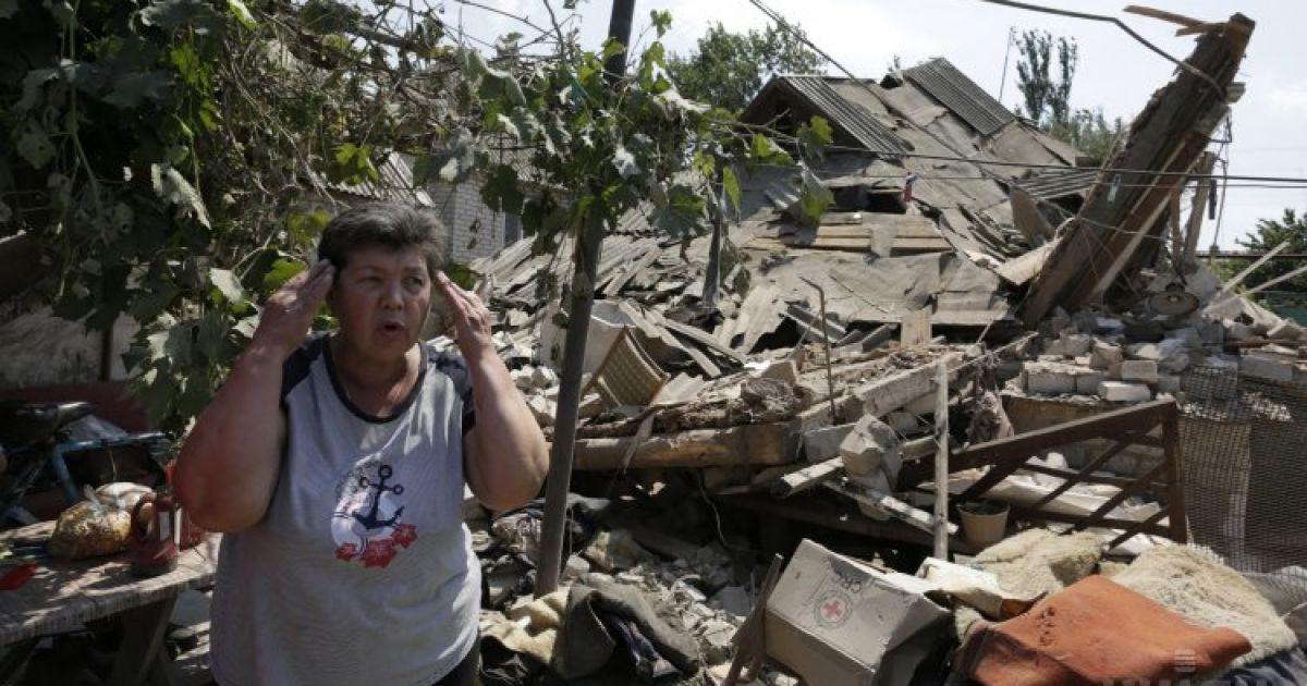 Боевики минометным обстрелом оставили часть Луганщины без воды