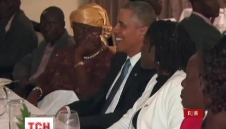 Вперше в історії американський президент відвідав Кенію