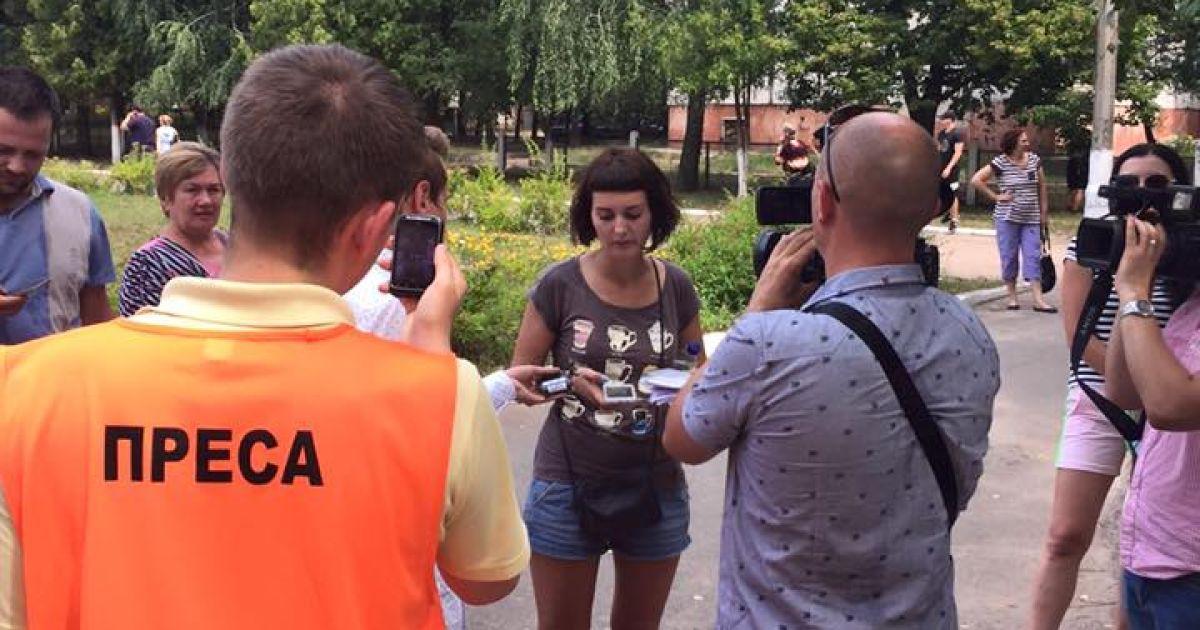 Возле избирательного участка в Чернигове избили социолога