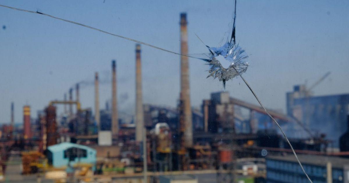 В Авдеевке из-за обстрела боевиков горел коксохимический завод