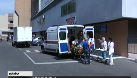 8 тяжкопоранених бійців ґвинтокрилами доправили до Дніпропетровської лікарні