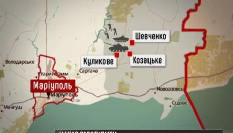 Українська армія не збирається покидати передові позиції біля Маріуполя