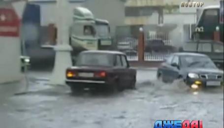 В Москве объявили высший уровень опасности из-за ливней
