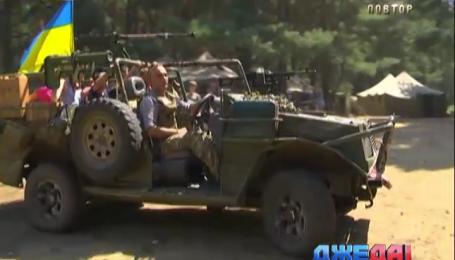 На Трухановом острове испытывали боевую машину для АТО