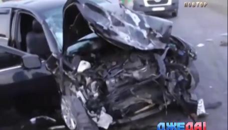 Аваков обвиняет авто судьи в аварии в Полтавской области
