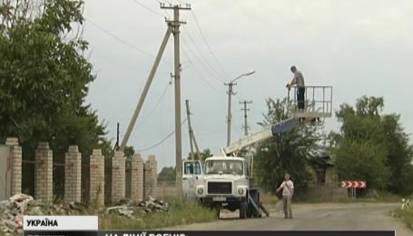 Террористы обстреляли силовые установки ТЭС, расположенной в Счастье