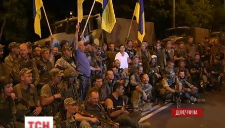 Украинцы не отходили из Широкино