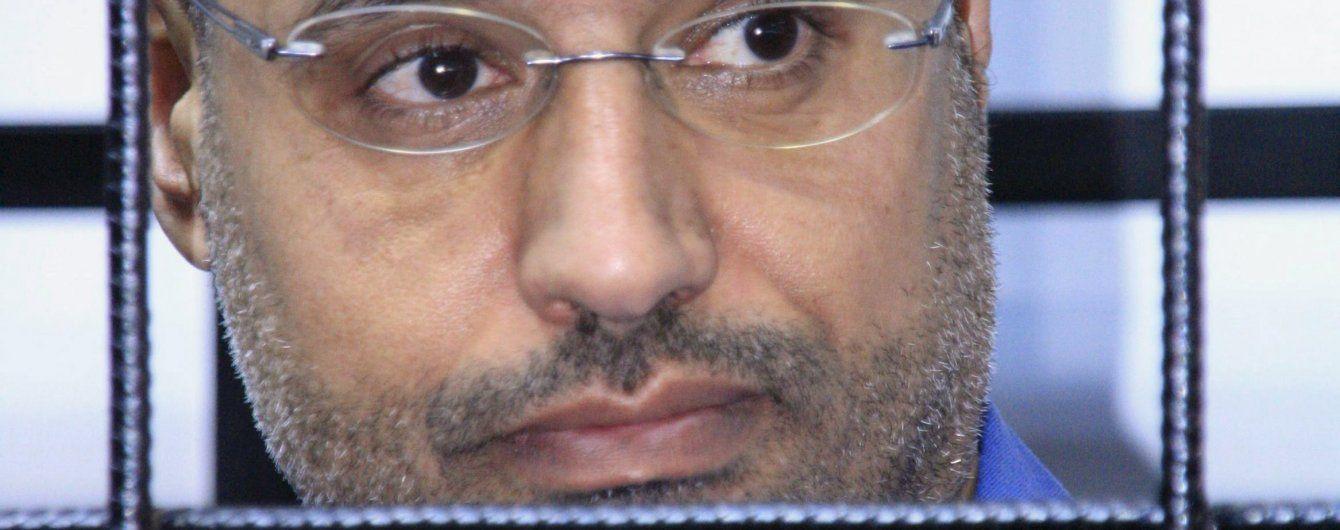 Засудженого до страти сина Каддафі звільнили з в'язниці - ЗМІ