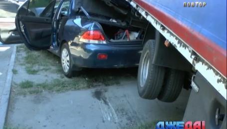 В Днепропетровске в аварии пострадали два человека