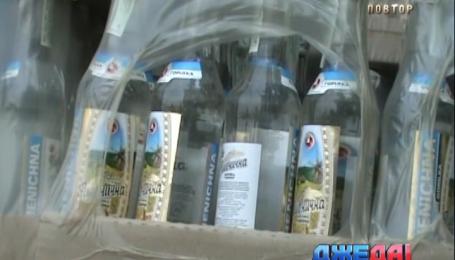 В Днепропетровске на блокпосту задержали грузовик с контрабандным алкоголем