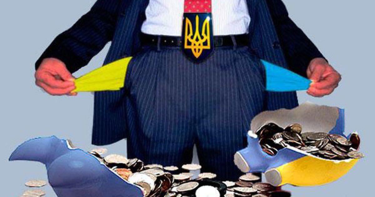 """""""Привередливые"""" кредиторы передумали соглашаться с условиями списания Украине 20% долга – Bloomberg"""