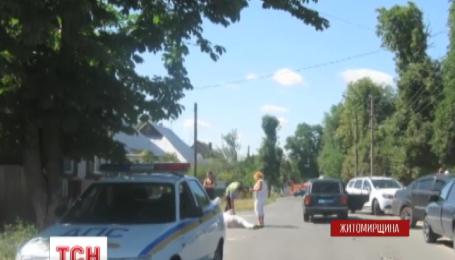 В Малине Житомирской области столкновениями закончилась попытка взыскать штраф с семьи судьи