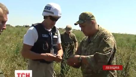 Ночью позиции возле поселка Крымское обстреляли из запрещенного оружия